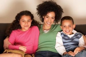 FamilyWatchingTV